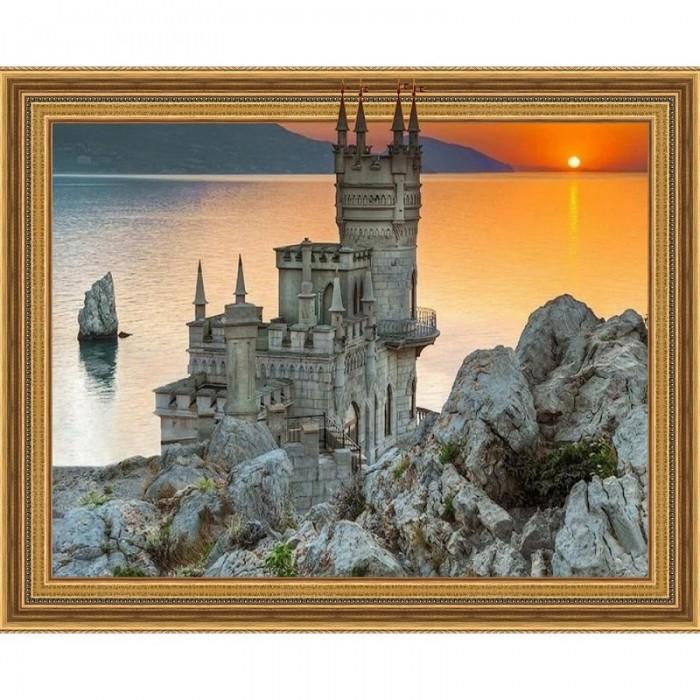 Картины своими руками Molly Картина мозаика 3D Закат в Крыму 40х50 см