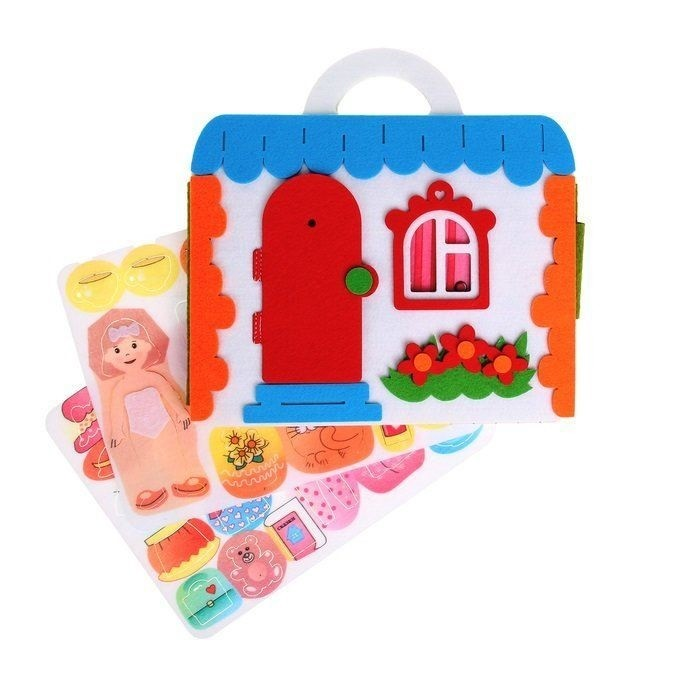Смайл Декор Сумка-игралка Кукольный домик