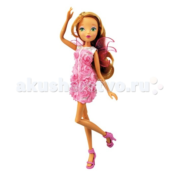 Winx Club Кукла Нежная роза Флора