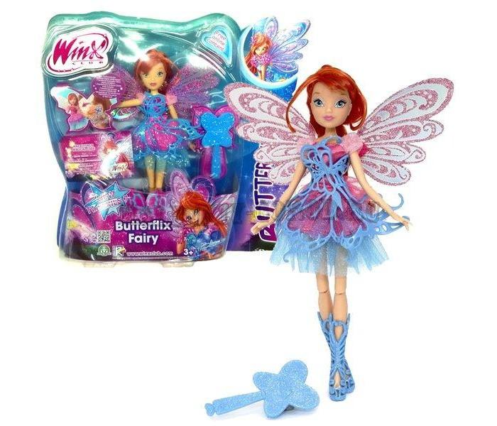 Куклы и одежда для кукол Феи Винкс (Winx Club) Кукла Баттерфликс Блум 27 см winx club кукла блум деним winx club
