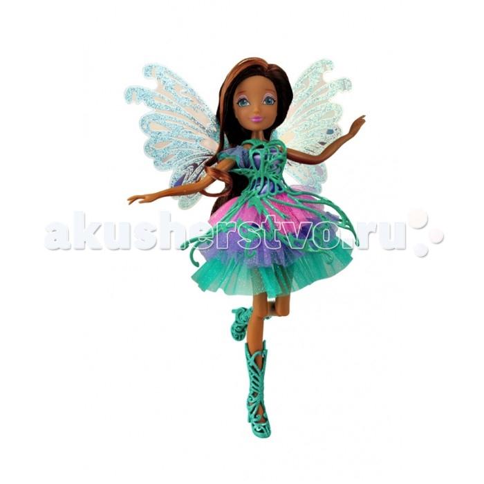 Куклы и одежда для кукол Феи Винкс (Winx Club) Кукла Баттерфликс Лейла 27 см куклы winx кукла winx club баттерфликс 2 двойные крылья flora