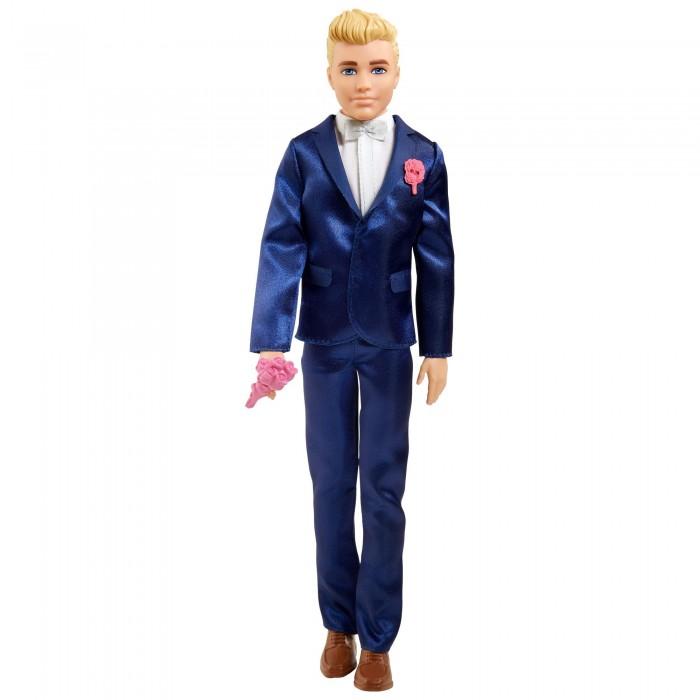 Купить Куклы и одежда для кукол, Barbie Кукла Кен Жених в свадебном костюме
