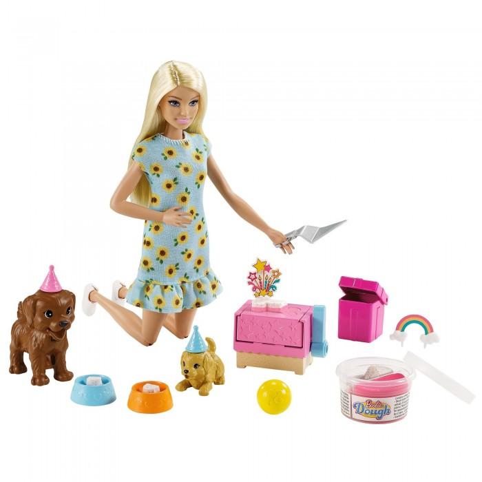 Куклы и одежда для кукол Barbie Игровой набор Барби с питомцами