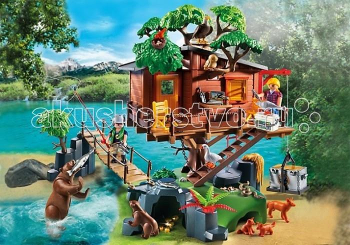 Конструктор Playmobil В Поисках Приключений: Дом на дереве