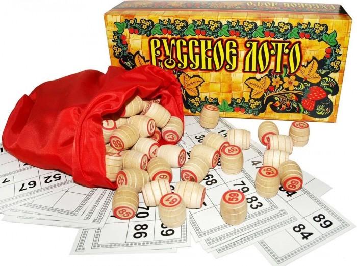 Настольные игры Ладья-С Русское лото в картонной упаковке недорого