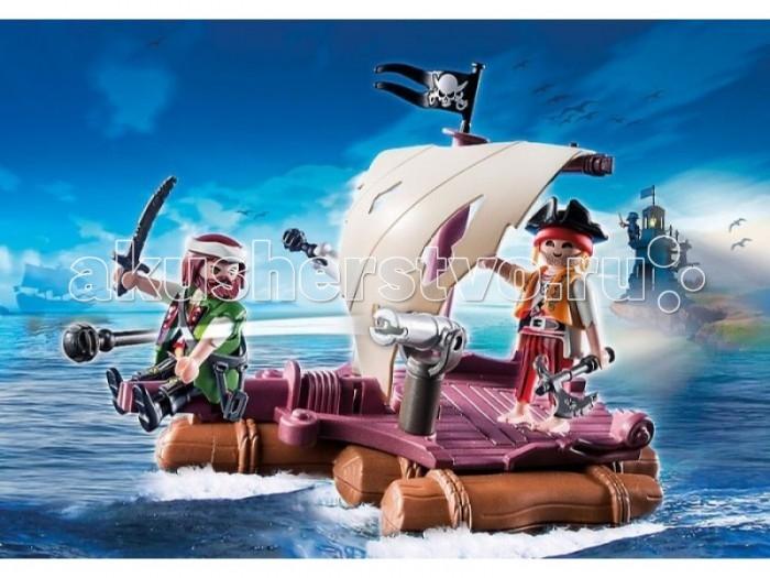 Конструктор Playmobil Пираты: Пиратский плот