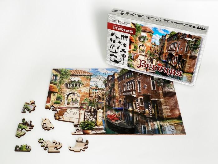 Фото - Пазлы Нескучные Игры Деревянный пазл Citypuzzles Венеция пазлы нескучные игры деревянный пазл citypuzzles лондон