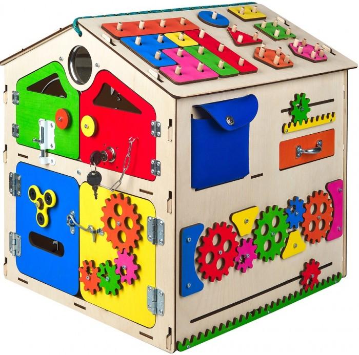 Деревянная игрушка AliceToys Бизиборд Бизидом модель 5