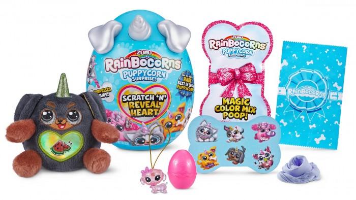 Картинка для Мягкие игрушки Zuru Плюш-сюрприз RainBocoRns Puppycorn мини в яйце