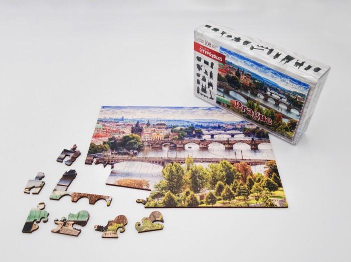 Фото - Пазлы Нескучные Игры Деревянный пазл Citypuzzles Прага пазлы нескучные игры деревянный пазл citypuzzles лондон