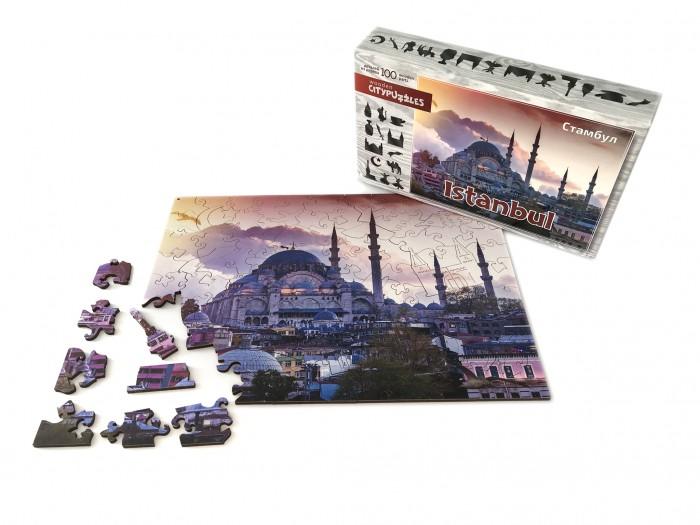Фото - Пазлы Нескучные Игры Деревянный пазл Citypuzzles Стамбул пазлы нескучные игры деревянный пазл citypuzzles лондон