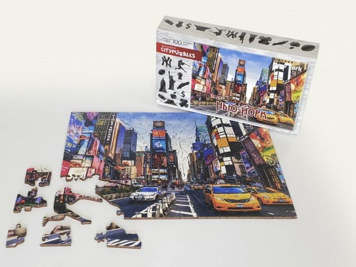 Фото - Пазлы Нескучные Игры Деревянный пазл Citypuzzles Нью-Йорк пазлы нескучные игры деревянный пазл citypuzzles лондон