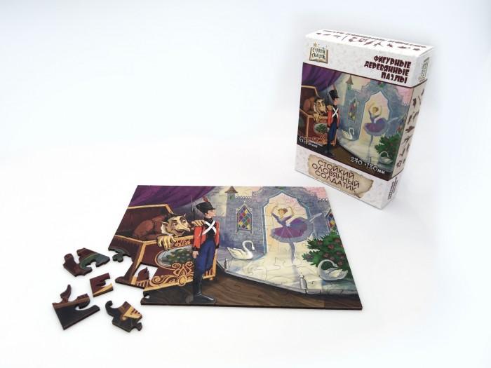 Купить Пазлы, Нескучные Игры Деревянный пазл Страна Сказок Стойкий оловянный солдатик