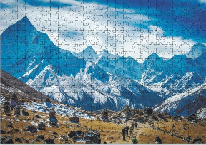 Пазлы Dodo Пазл Вершина Эверест Непал (500 элементов) пазлы dodo пазл мини маленькие принцессы 35 элементов