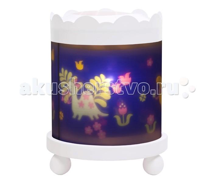 Детская мебель , Ночники Trousselier Светильник-ночник в форме цилиндра Dinosaurs арт: 111850 -  Ночники