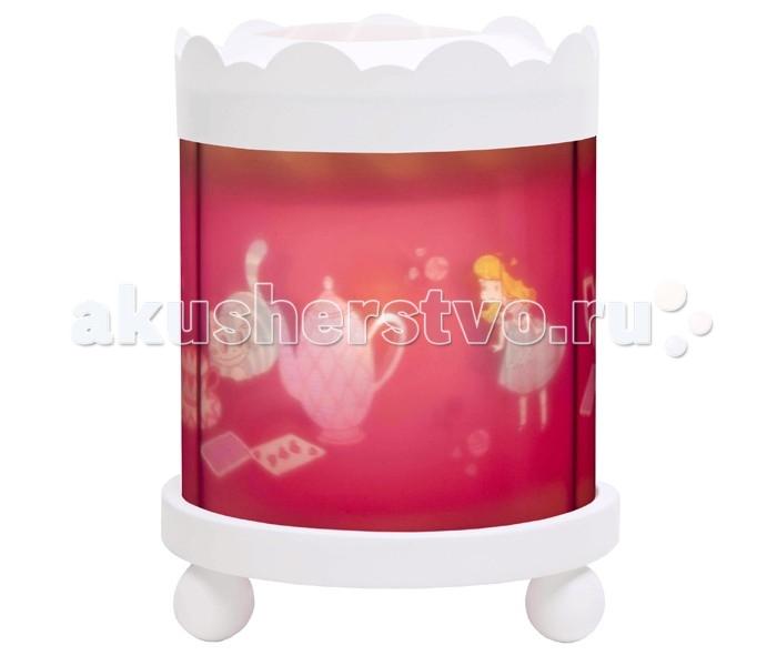 Детская мебель , Ночники Trousselier Светильник-ночник в форме цилиндра Alice арт: 111865 -  Ночники