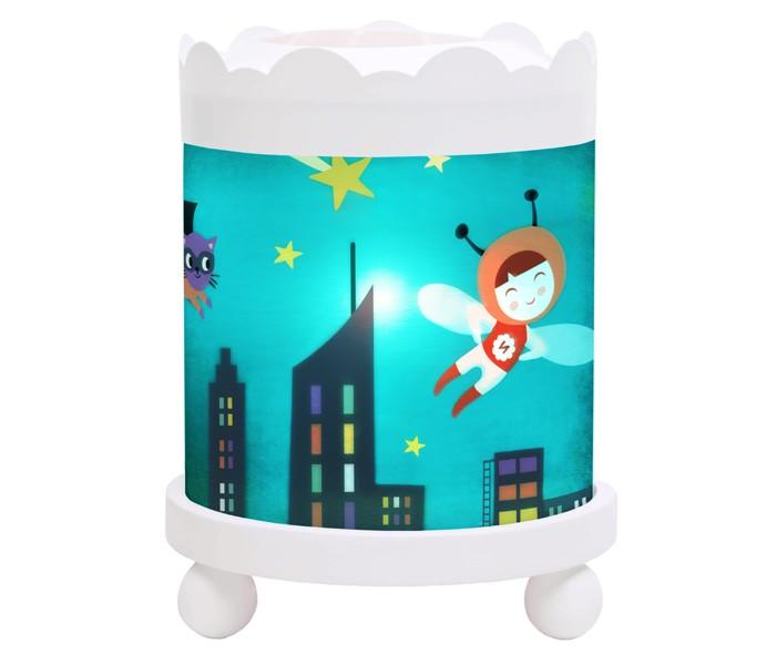Детская мебель , Ночники Trousselier Светильник-ночник в форме цилиндра Ninon Heroe арт: 111886 -  Ночники