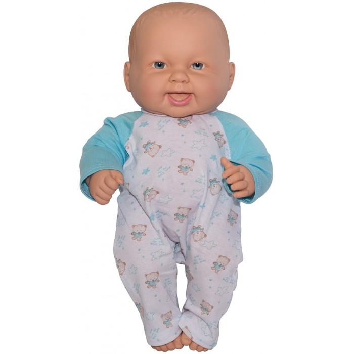 Куклы и одежда для кукол Огонек Кукла-пупс Кирюша в комбинезоне 40 см