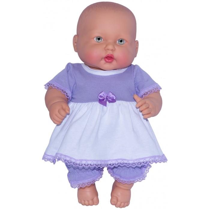 Картинка для Огонек Кукла-пупс Анюта в платье 40 см
