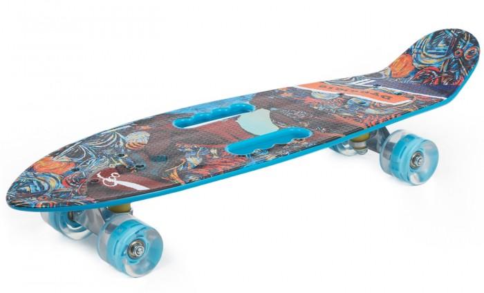 N.Ergo Скейтборд со светом Т17043С