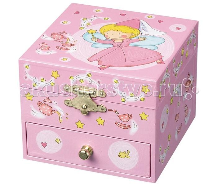 Trousselier Музыкальная шкатулка-куб Fairy & Stars