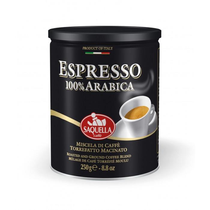 Купить Saquella Кофе молотый 100% Арабика 250 г