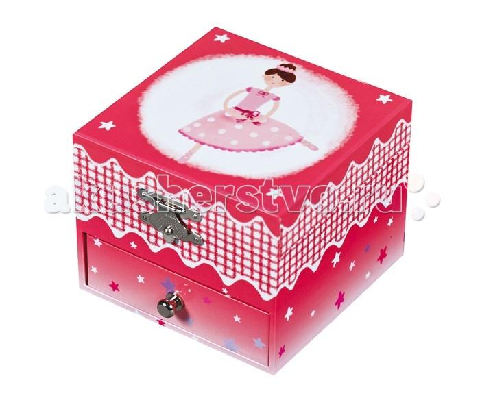 Trousselier Музыкальная шкатулка-куб Ballerina