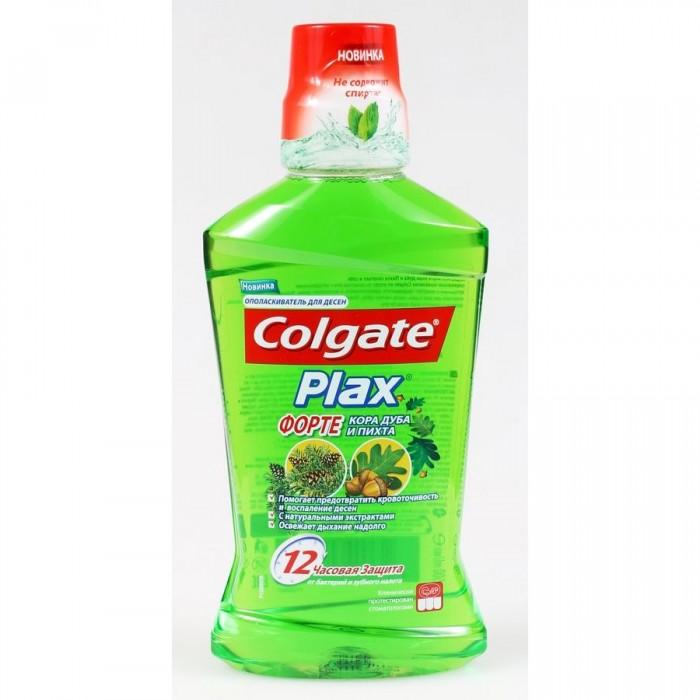 Гигиена полости рта Colgate Plax Форте Ополаскиватель для полости рта Кора Дуба и Пихта 500 мл лайна мс спрей для удаления меток и запахов домаш животных пихта 0 75л