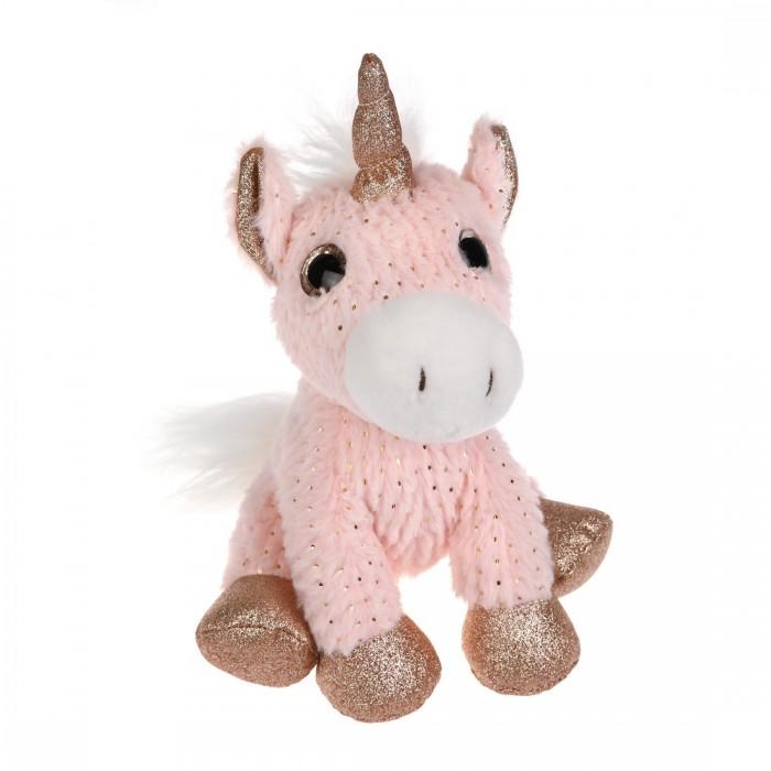 Купить Мягкие игрушки, Мягкая игрушка Fluffy Family Единорог Блестяшка 25 см