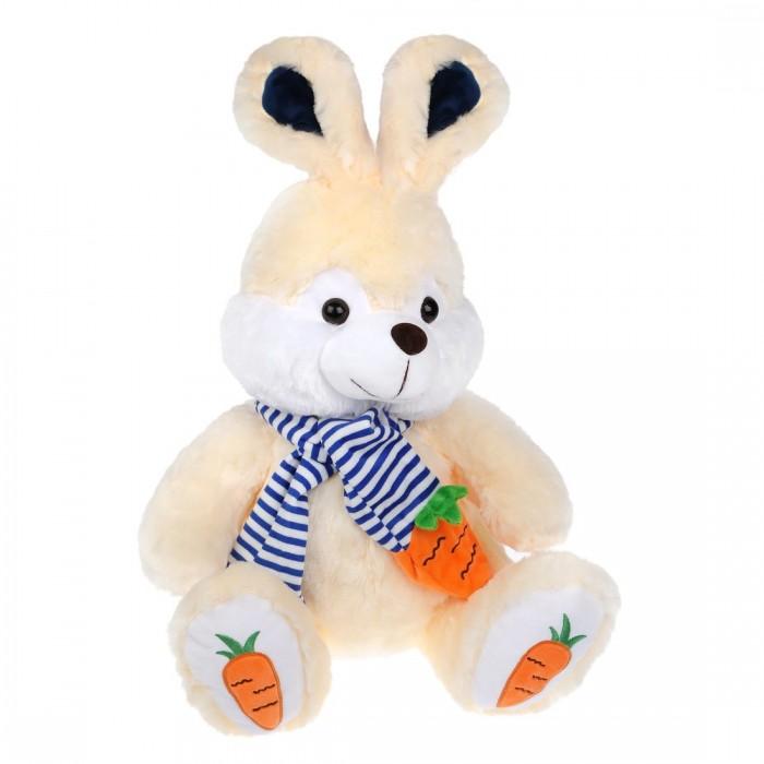 Купить Мягкие игрушки, Мягкая игрушка Fluffy Family Зайка Морковкин 40 см