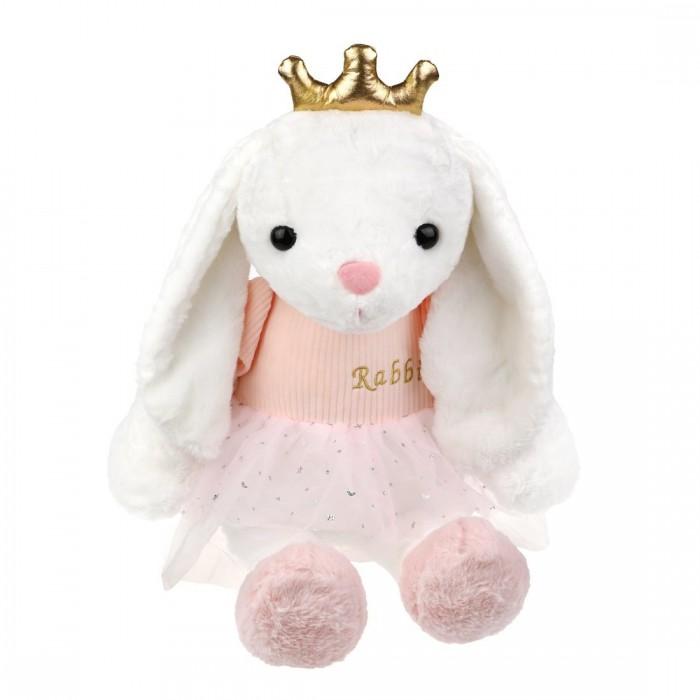 Купить Мягкие игрушки, Мягкая игрушка Fluffy Family Зайка Принцесса 45 см