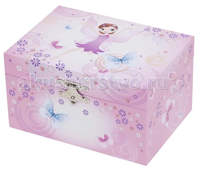 Детская мебель , Шкатулки Trousselier Музыкальная шкатулка 1 отделение Fairy Parma арт: 112015 -  Шкатулки