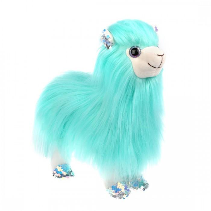Купить Мягкие игрушки, Мягкая игрушка Fluffy Family Лама длинноворсная 30 см