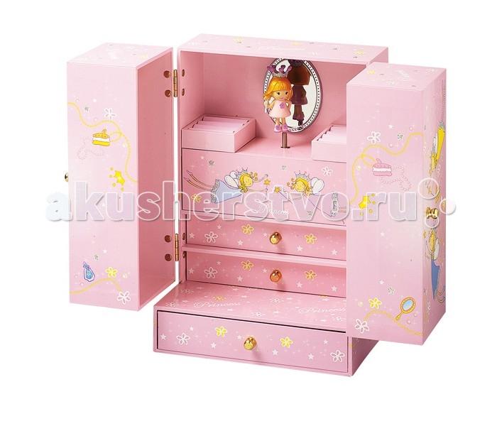 Детская мебель , Шкатулки Trousselier Музыкальная шкатулка Cabinet Princess арт: 112057 -  Шкатулки