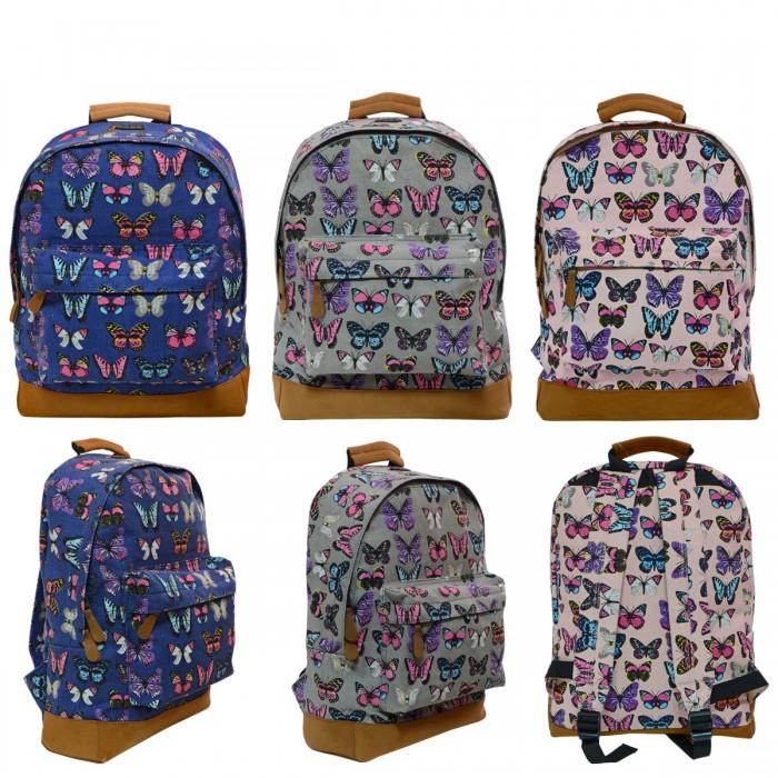 Купить Школьные рюкзаки, Action Рюкзак с принтом Бабочки 37х30х12 см