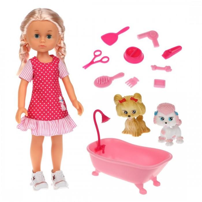 Купить Куклы и одежда для кукол, Mary Poppins Кукла Николь с ванночкой Домашние питомцы 36 см