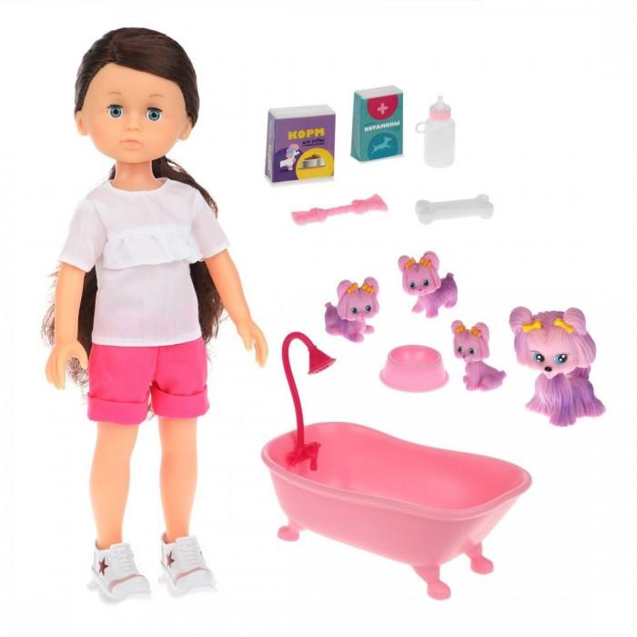 Купить Куклы и одежда для кукол, Mary Poppins Кукла Николь Домашние питомцы щенки 36 см