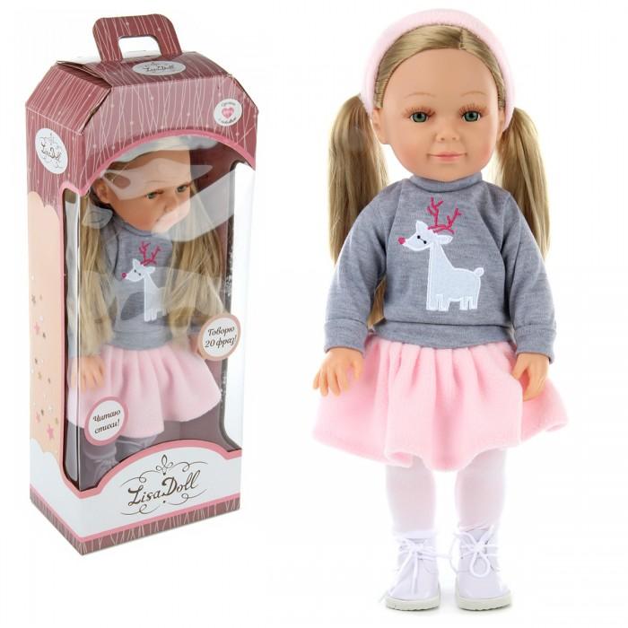 Lisa Doll Говорящая кукла Ева 37 см