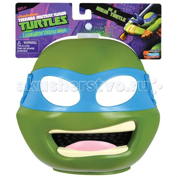 Ролевые игры Turtles Маска Черепашки-ниндзя Леонардо игровой набор turtles боевое снаряжение черепашки ниндзя леонардо 4 предмета