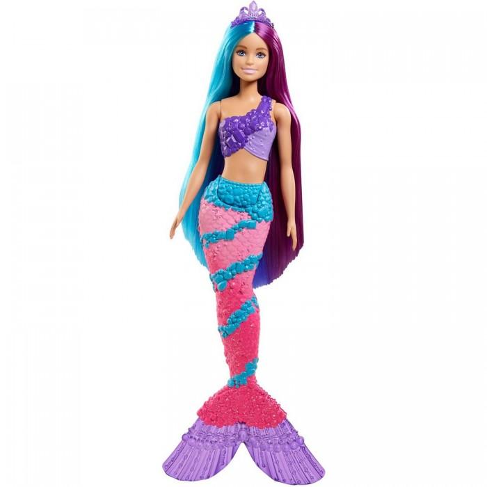Купить Куклы и одежда для кукол, Barbie Дримтопия Кукла Русалка с длинными волосами