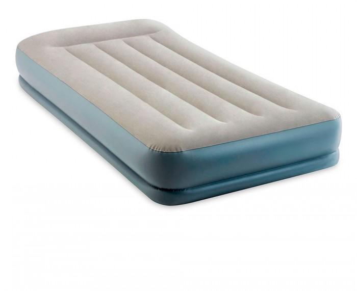 Товары для дачи и сада Intex Надувная кровать с подголовником 64116