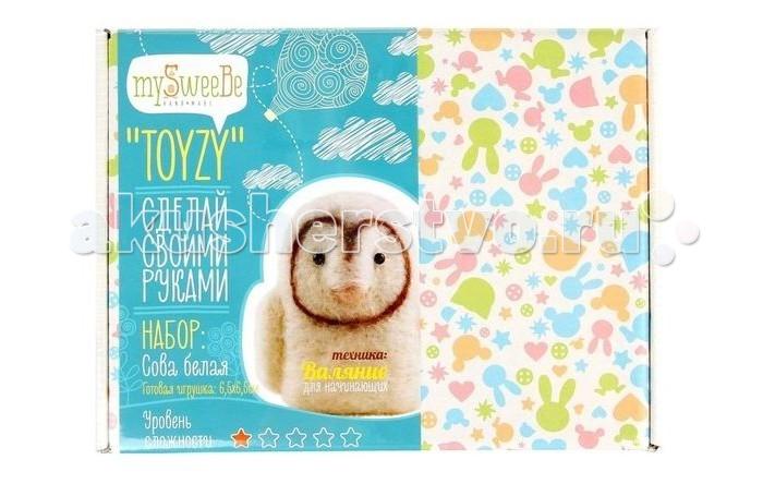Наборы для творчества ToyzyKit Валяние из шерсти Сова toyzykit картина шерстью сова в костюме панды