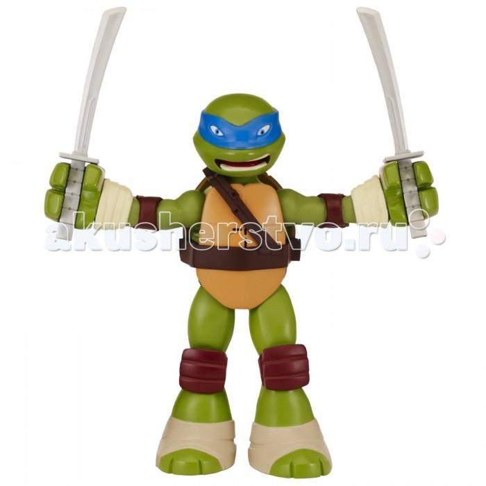 Игровые фигурки Turtles Фигурка Черепашки-ниндзя Леонардо игровые фигурки turtles фигурка черепашки ниндзя рафаэль со звуком 15 см
