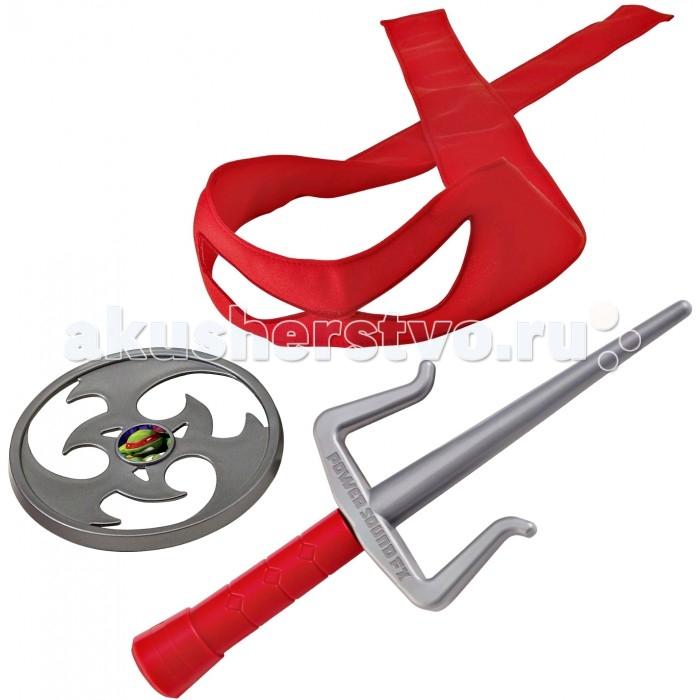Игрушечное оружие Turtles Игрушечное снаряжение Черепашки-ниндзя со звуком Рафаэль игрушечное оружие yako игрушечное оружие 2 в 1 y4640125
