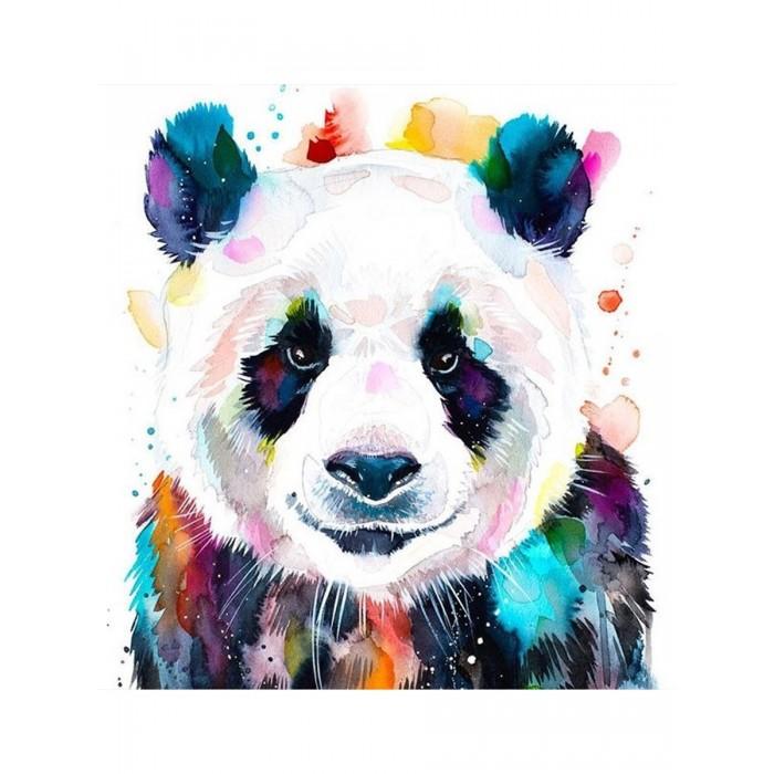 Картины по номерам Котеин Картина по номерам Большая панда 30х30 см