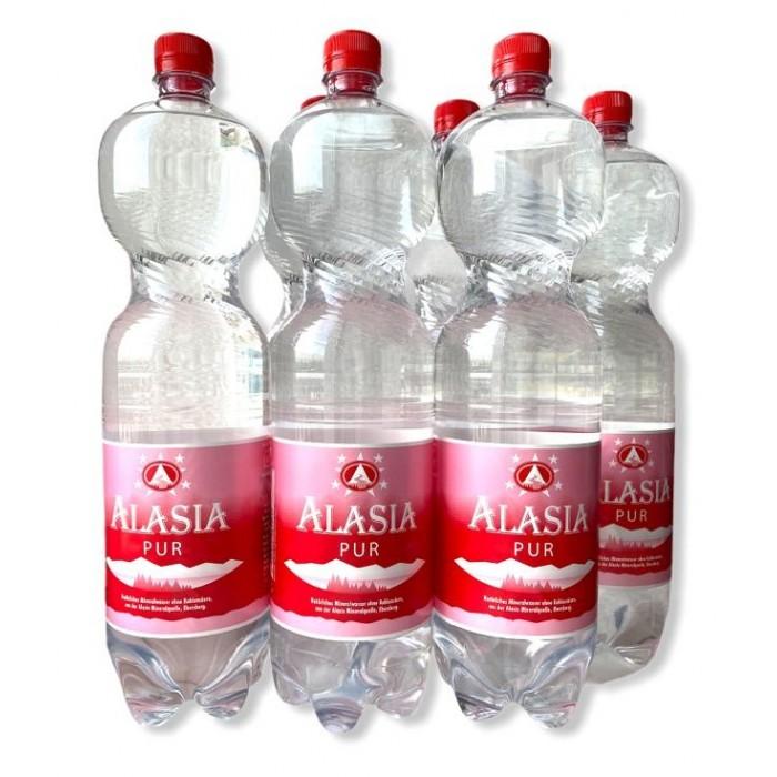 Alasia Природная вода Mineral Water Pur 1.5 л 6 шт.