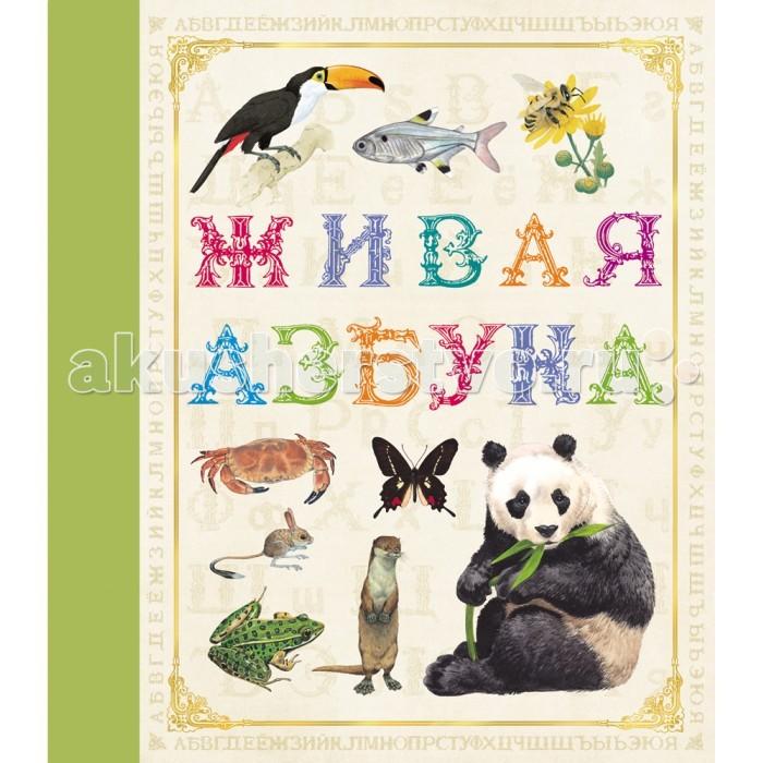 Обучающие книги Росмэн Живая азбука