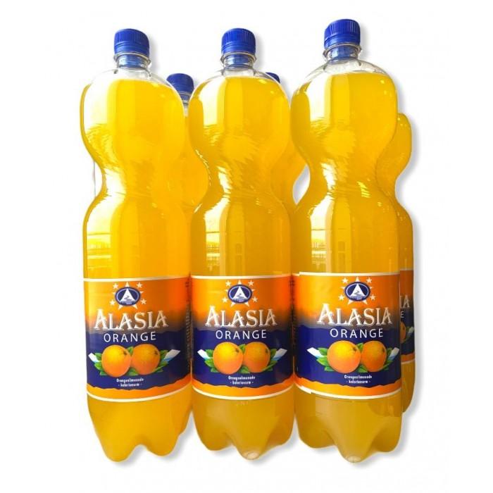 Alasia Напиток Orange 1.5 л 6 шт.