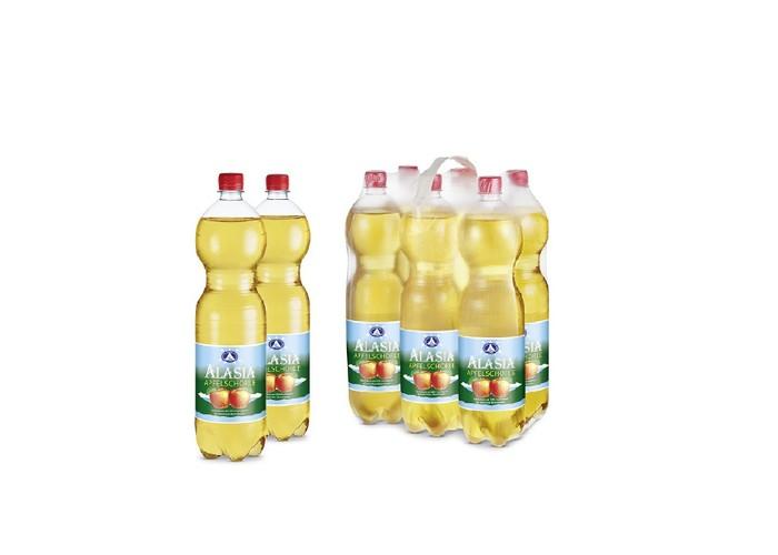 Alasia Минеральная вода Apfelschorle с яблочным соком 1.5 л 6 шт.