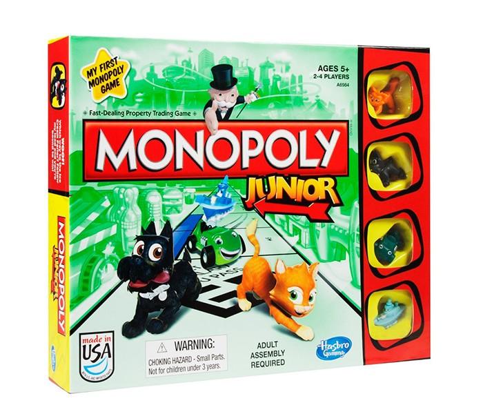 Monopoly Игра Моя первая Монополия фото